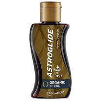 Astroglide Organic Oil Liquid & Massage Lotion, 120 ml